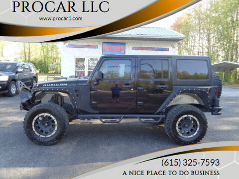 2011 Jeep Wrangler Unlimited for sale at PROCAR LLC in Portland TN