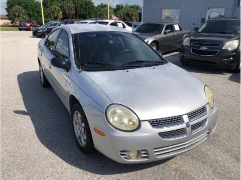 2005 Dodge Neon for sale at My Value Car Sales in Venice FL