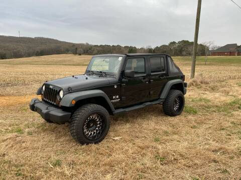 2008 Jeep Wrangler Unlimited for sale at Tennessee Valley Wholesale Autos LLC in Huntsville AL