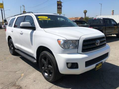 2011 Toyota Sequoia for sale at BEST DEAL MOTORS  INC. CARS AND TRUCKS FOR SALE in Sun Valley CA