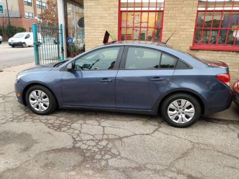2013 Chevrolet Cruze for sale at 5 Stars Auto Service and Sales in Chicago IL