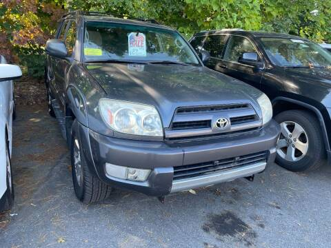 2004 Toyota 4Runner for sale at Nano's Autos in Concord MA