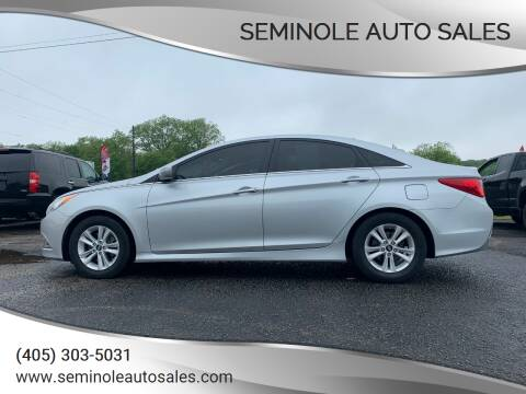 2014 Hyundai Sonata for sale at Seminole Auto Sales in Seminole OK