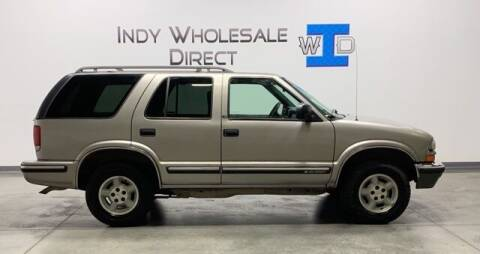 1999 Chevrolet Blazer for sale at Indy Wholesale Direct in Carmel IN