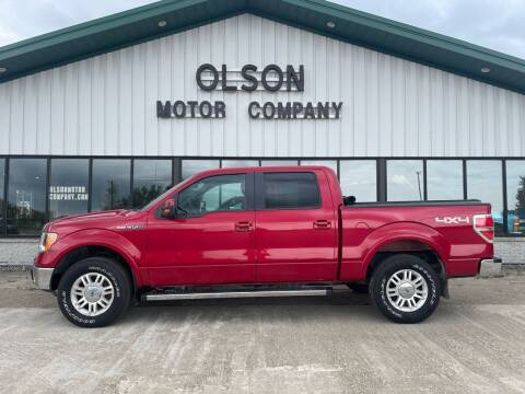 2012 Ford F-150 for sale at Olson Motor Company in Morris MN