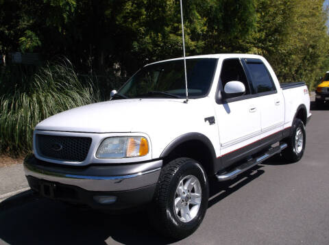 2003 Ford F-150 for sale at Eastside Motor Company in Kirkland WA