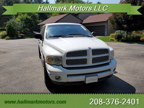 2002 Dodge Ram Pickup 1500 for sale at HALLMARK MOTORS LLC in Boise ID