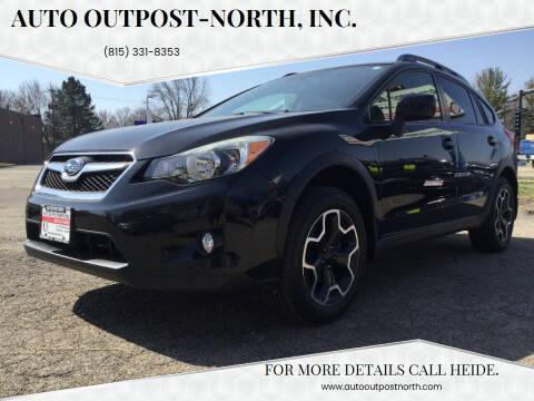 2014 Subaru XV Crosstrek for sale at Auto Outpost-North, Inc. in McHenry IL
