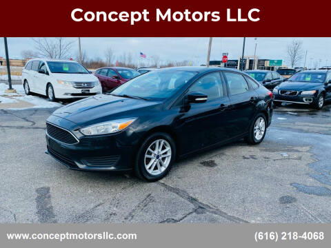 2015 Ford Focus for sale at Concept Motors LLC in Holland MI