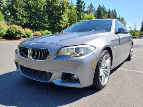 2011 BMW 5 Series for sale at Painlessautos.com in Bellevue WA