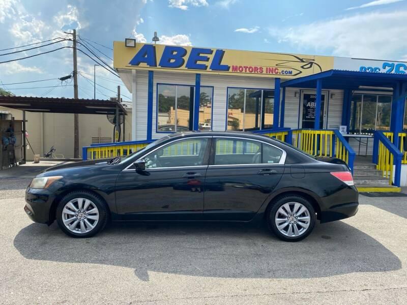 2011 Honda Accord for sale at Abel Motors, Inc. in Conroe TX