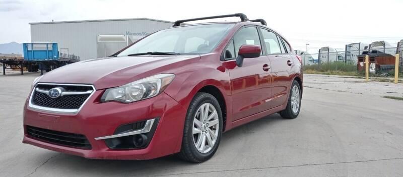 2015 Subaru Impreza for sale at AUTOMOTIVE SOLUTIONS in Salt Lake City UT