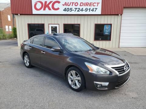 2013 Nissan Altima for sale at OKC Auto Direct, LLC in Oklahoma City OK