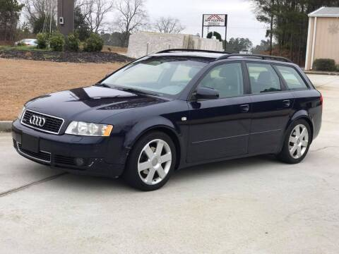 2005 Audi A4 for sale at Two Brothers Auto Sales in Loganville GA