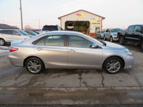 2015 Toyota Camry for sale at Jefferson St Motors in Waterloo IA