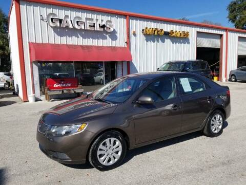 2013 Kia Forte for sale at Gagel's Auto Sales in Gibsonton FL