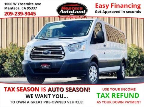 2016 Ford Transit Passenger for sale at Manteca Auto Land in Manteca CA