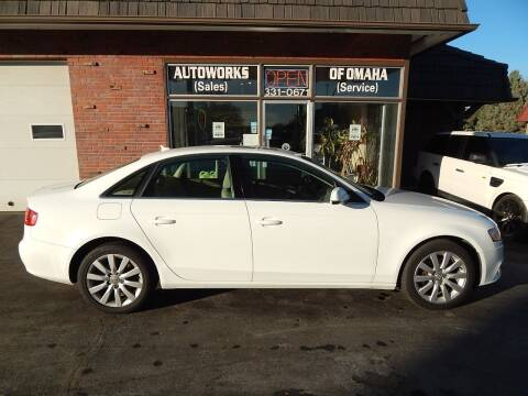 2010 Audi A4 for sale at AUTOWORKS OF OMAHA INC in Omaha NE