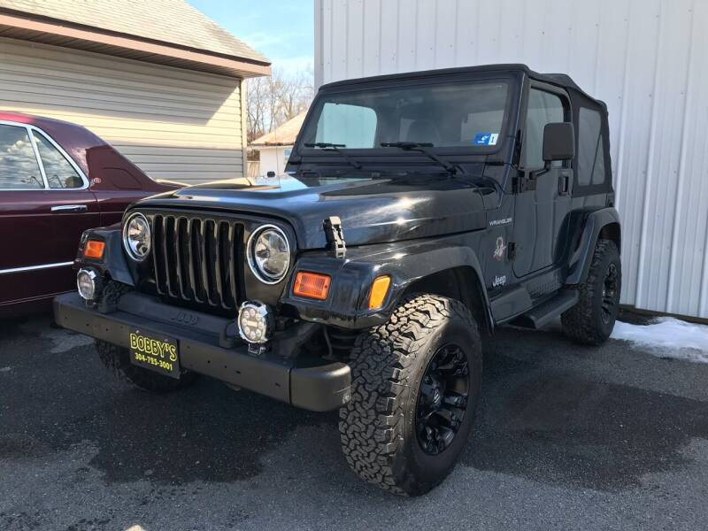 2002 Jeep Wrangler for sale at Bobbys Used Cars in Charles Town WV