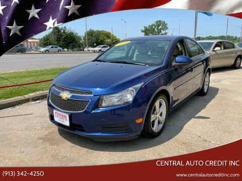 2013 Chevrolet Cruze for sale at Central Auto Credit Inc in Kansas City KS