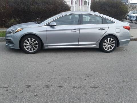 2017 Hyundai Sonata for sale at Nelsons Auto Specialists in New Bedford MA