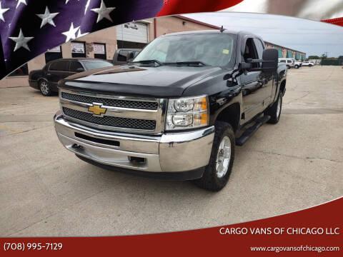 2013 Chevrolet Silverado 1500 for sale at Cargo Vans of Chicago LLC in Mokena IL