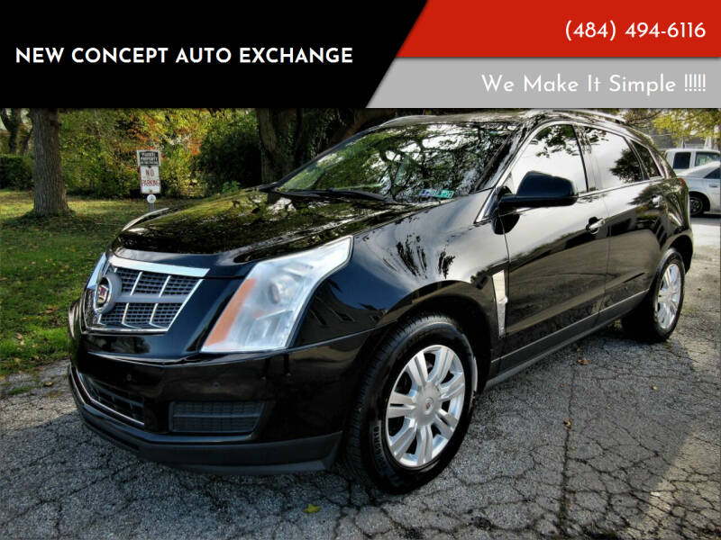 2010 Cadillac SRX LUXURY AWD for sale at New Concept Auto Exchange in Glenolden PA