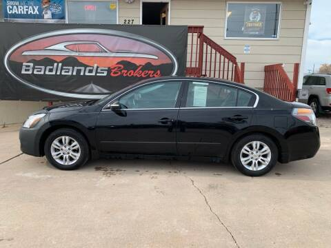 2012 Nissan Altima for sale at Badlands Brokers in Rapid City SD