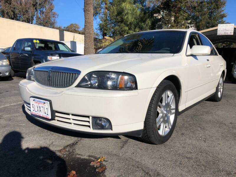 2003 Lincoln LS for sale at Martinez Truck and Auto Sales in Martinez CA