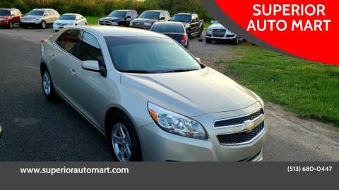 2013 Chevrolet Malibu for sale at SUPERIOR AUTO MART in Amelia OH