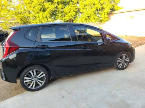 2015 Honda Fit for sale at E and M Auto Sales in Bloomington CA