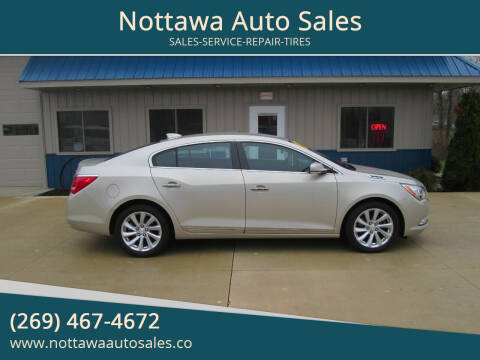 2015 Buick LaCrosse for sale at Nottawa Auto Sales in Nottawa MI