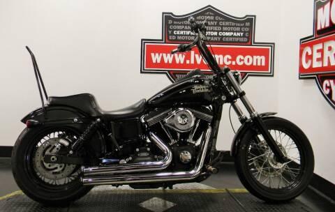 2016 Harley-Davidson DYNA STREET BOB for sale at Certified Motor Company in Las Vegas NV