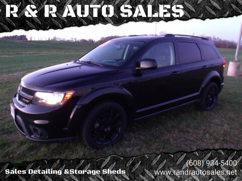 2014 Dodge Journey for sale at R & R AUTO SALES in Juda WI