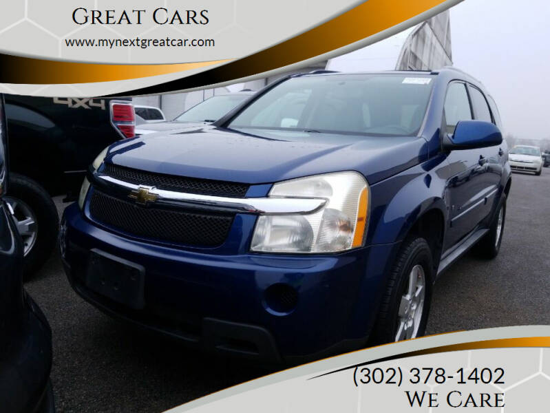 2009 Chevrolet Equinox for sale at Great Cars in Middletown DE