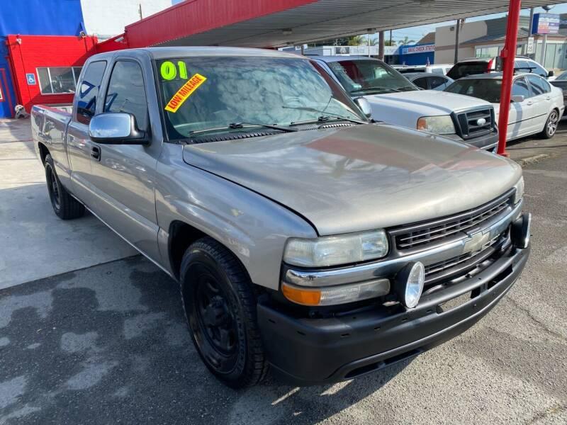 2001 Chevrolet Silverado 1500 for sale at North County Auto in Oceanside CA