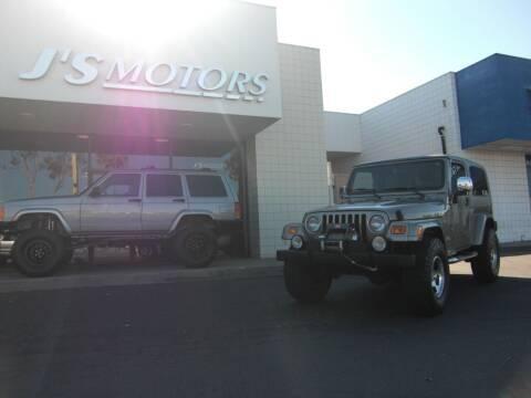 2005 Jeep Wrangler for sale at J'S MOTORS in San Diego CA