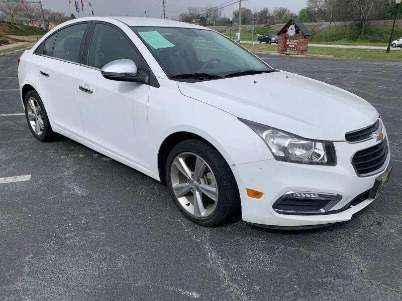 2015 Chevrolet Cruze for sale at Garcia Trucks Auto Sales Inc. in Austell GA