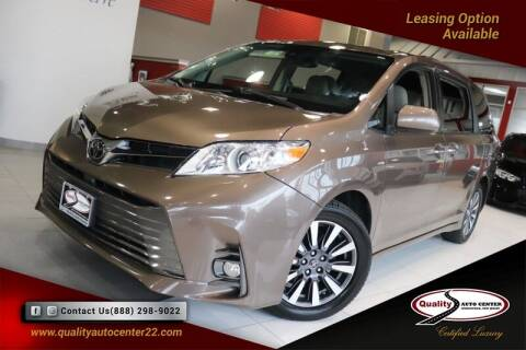 2018 Toyota Sienna for sale at Quality Auto Center of Springfield in Springfield NJ