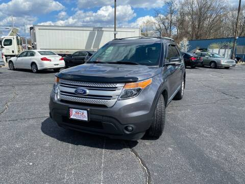 2014 Ford Explorer for sale at M & J Auto Sales in Attleboro MA