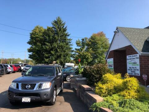 2010 Nissan Pathfinder for sale at Direct Sales & Leasing in Youngstown OH