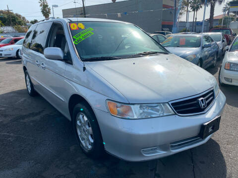 2004 Honda Odyssey for sale at North County Auto in Oceanside CA