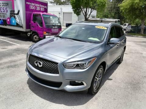2017 Infiniti QX60 for sale at Best Price Car Dealer in Hallandale Beach FL