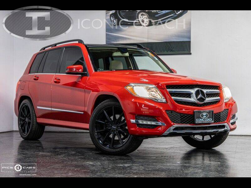 2013 Mercedes-Benz GLK for sale at Iconic Coach in San Diego CA