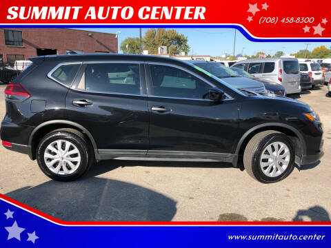 2020 Nissan Rogue for sale at SUMMIT AUTO CENTER in Summit IL