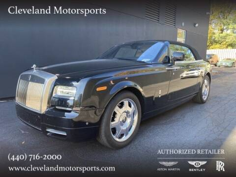 2014 Rolls-Royce Phantom Drophead Coupe for sale at Drive Options in North Olmsted OH