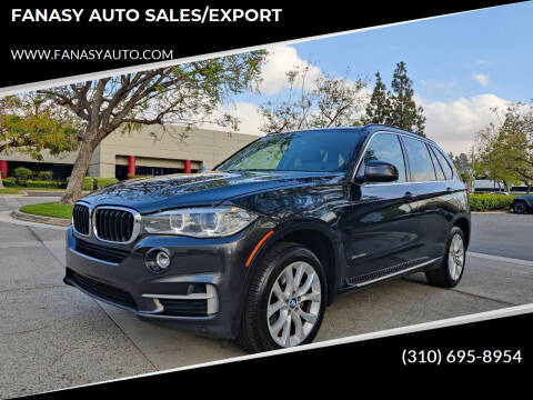 2016 BMW X5 for sale at FANASY AUTO SALES/EXPORT in Yorba Linda CA