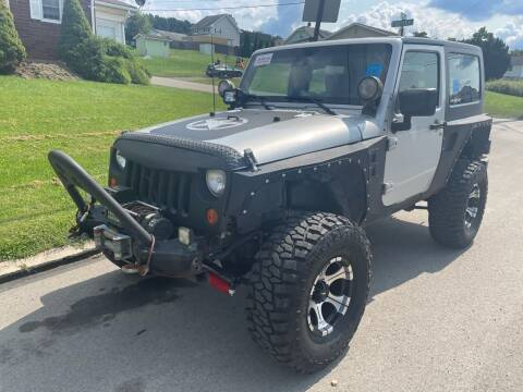 2007 Jeep Wrangler for sale at Trocci's Auto Sales in West Pittsburg PA