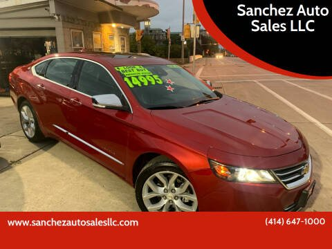 2014 Chevrolet Impala for sale at Sanchez Auto Sales LLC in Milwaukee WI
