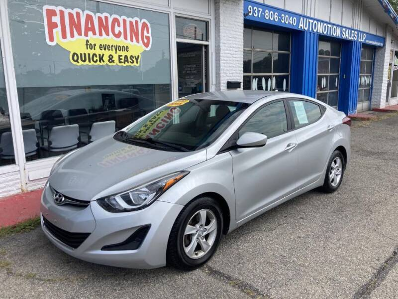2015 Hyundai Elantra for sale at AutoMotion Sales in Franklin OH